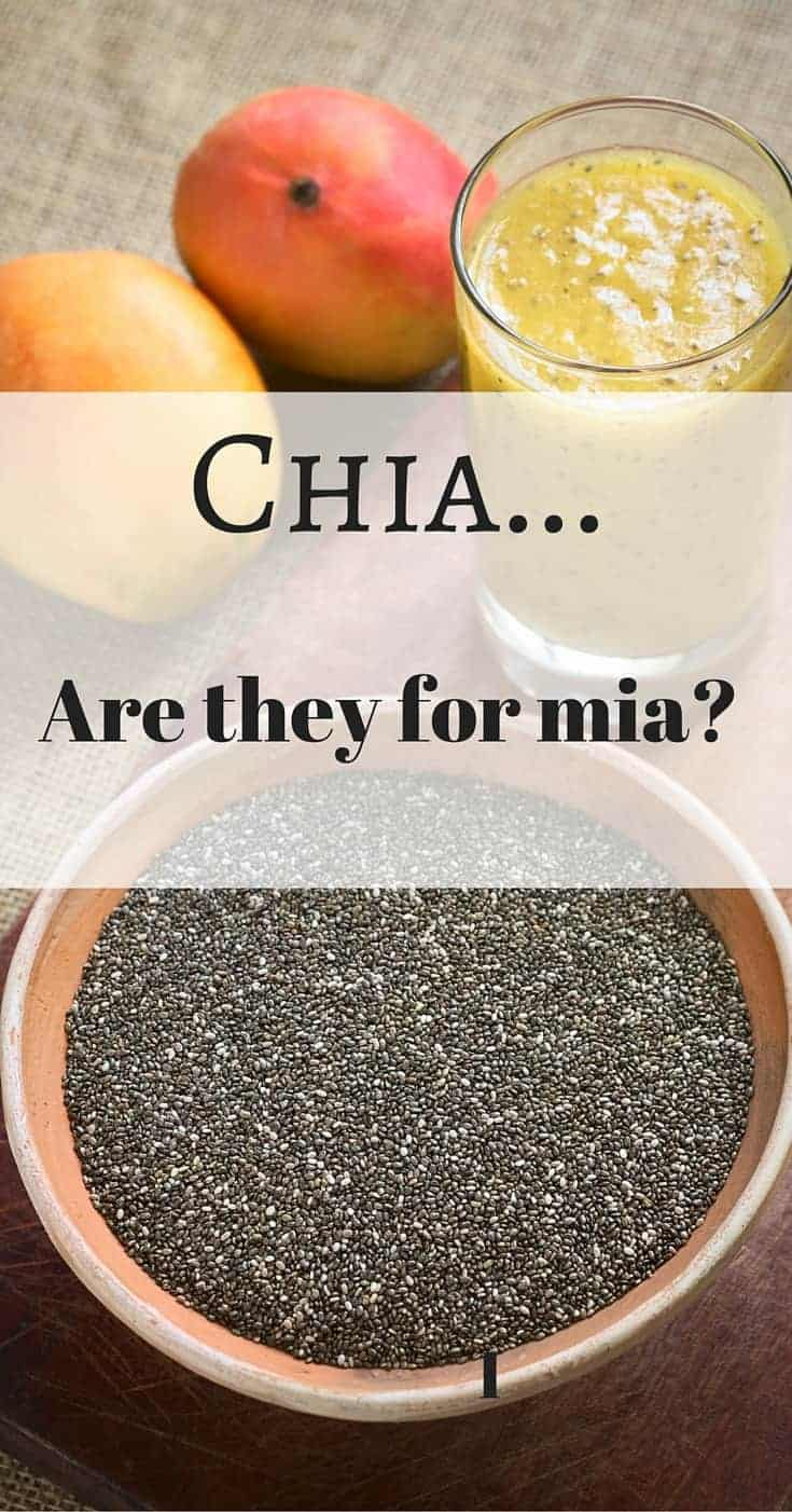 benefits of chia seeds