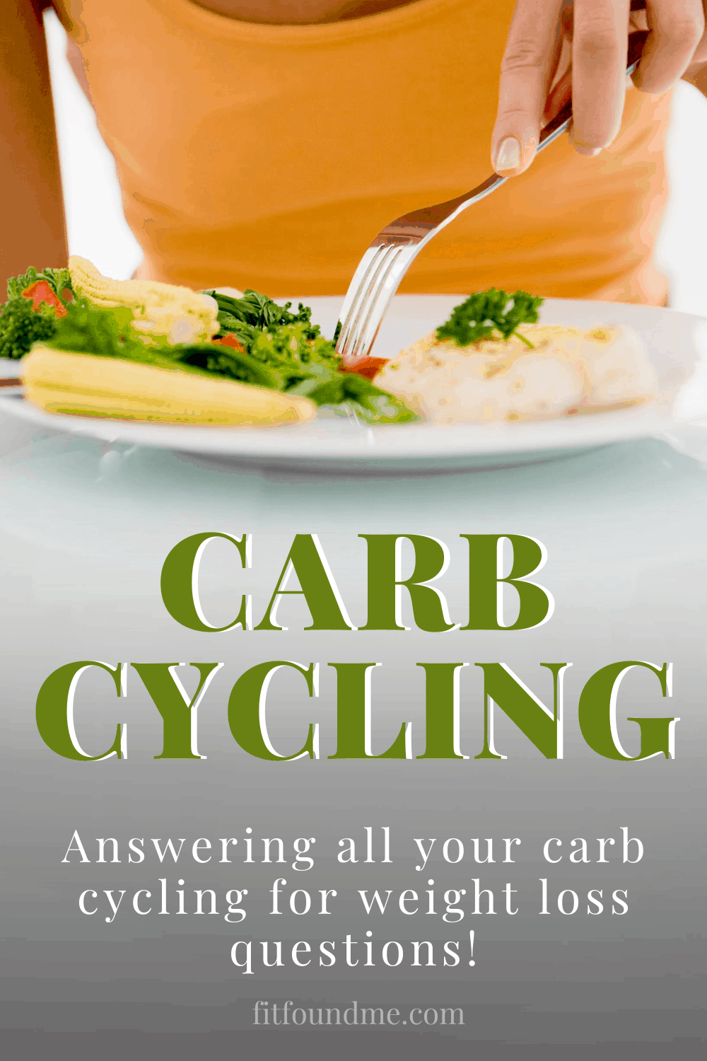 Looking back at the beginning of my weight loss, I was carb cycling to lose weight and didn't even realize it. Prior to 2013, my normal daily diet was carbs, carbs, and more carbs. Problem was, after 40, that also meant pounds, pounds and more pounds. That was until I decided enough was enough. The carb cycling diet turned out to be a great way for me to lose over 35lbs. Salads are great, but who wants to only eat salads? Carb cycling for women works because what woman doesn't love carbs? via @fitfoundme