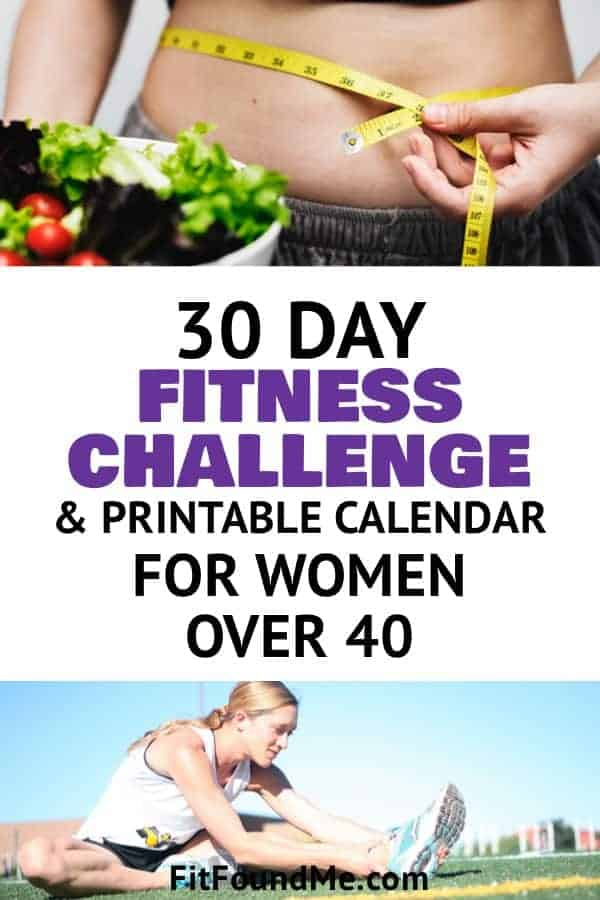 30 day fitness challenge to increase metabolism for women over 40