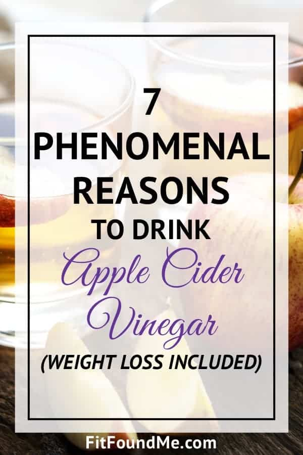 7 Reasons To Drink Apple Cider Vinegar Every Morning For