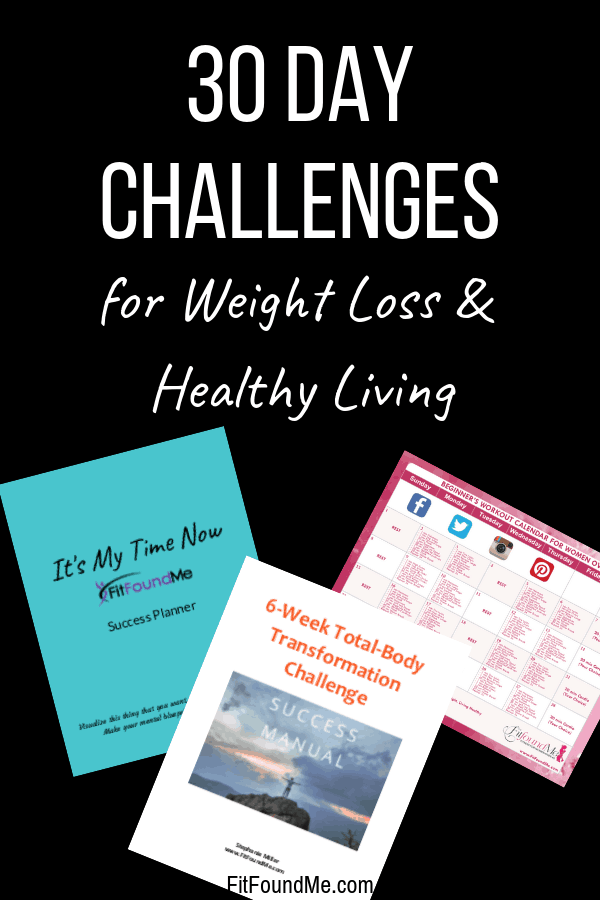 30 day challenges can help you lose weight