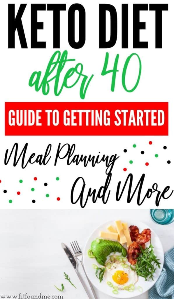 keto diet after 40 meal planning and more