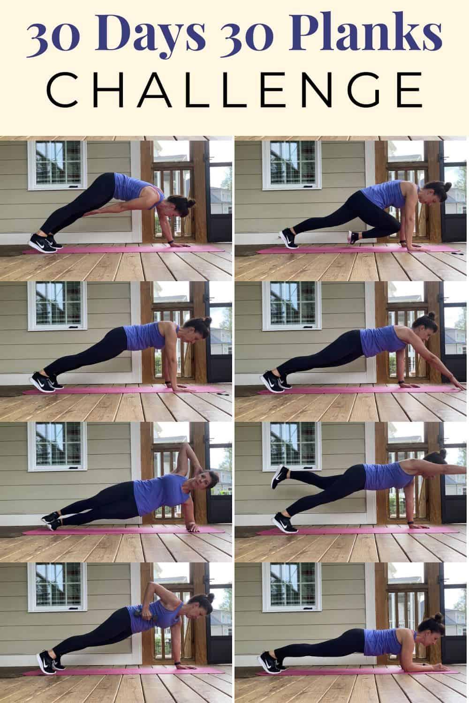 8 different planks