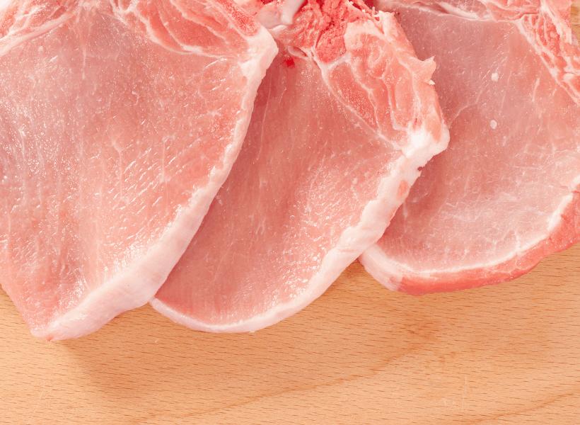 fresh pork chops
