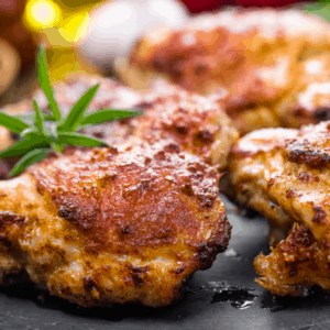 chicken thighs with rosemary lemon
