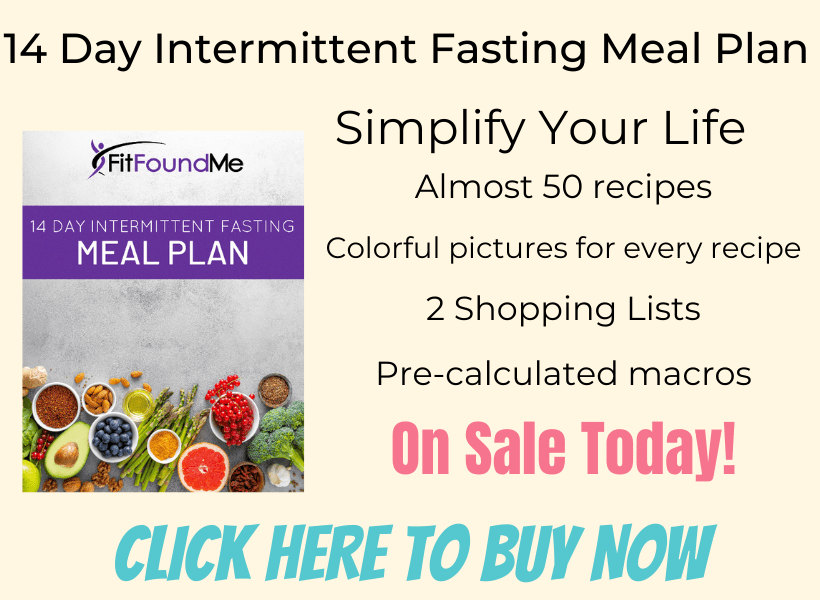 picture of intermittent fasting meal plan with description and on sale today