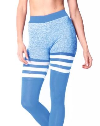 sky blue sock leggings