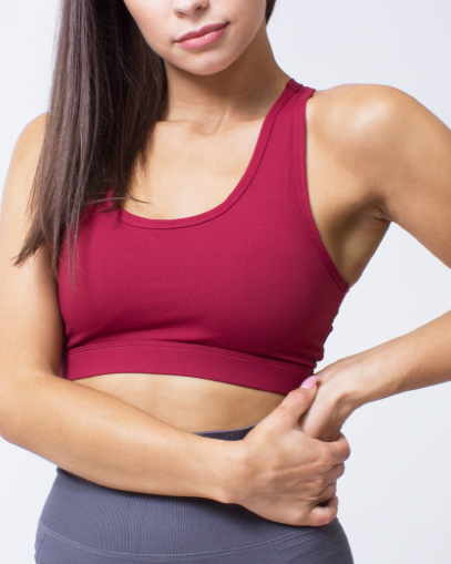 high support sports bra with pockets fitgal