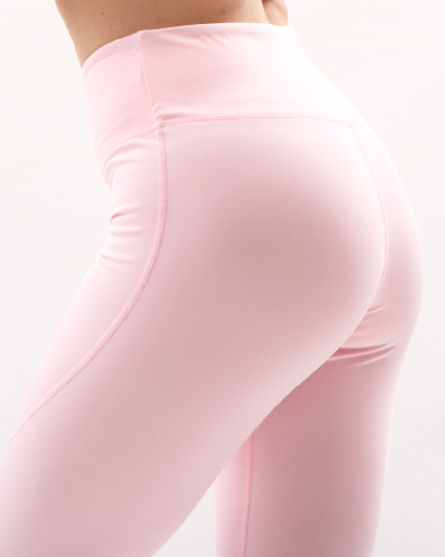 pale pink seamless leggings fitgal