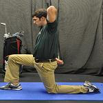 Hip Flexor genoux extensible