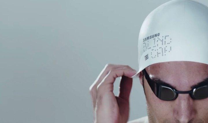 Samsung Blind Cap: badmuts voor blinde zwemmers