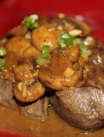 Paleo Steak Diane - a tasty, flavorful steak dinner