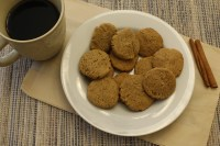 These Paleo Ginger Spice Cookies are soft, tasty, and addictive! Naturally sweetened and gluten free, these cookies are a delicious paleo Holiday treat!