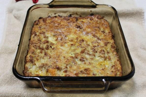 Sausage and Sweet potato Casserole - a simple, tasty paleo casserole dish