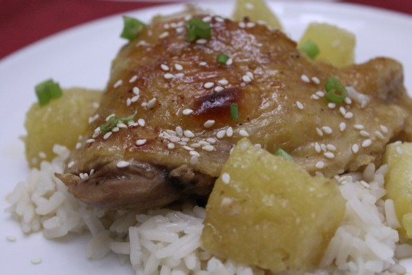 Paleo Pineapple Teriyaki Chicken