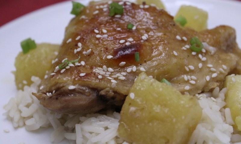 Paleo Pineapple Teriyaki Chicken
