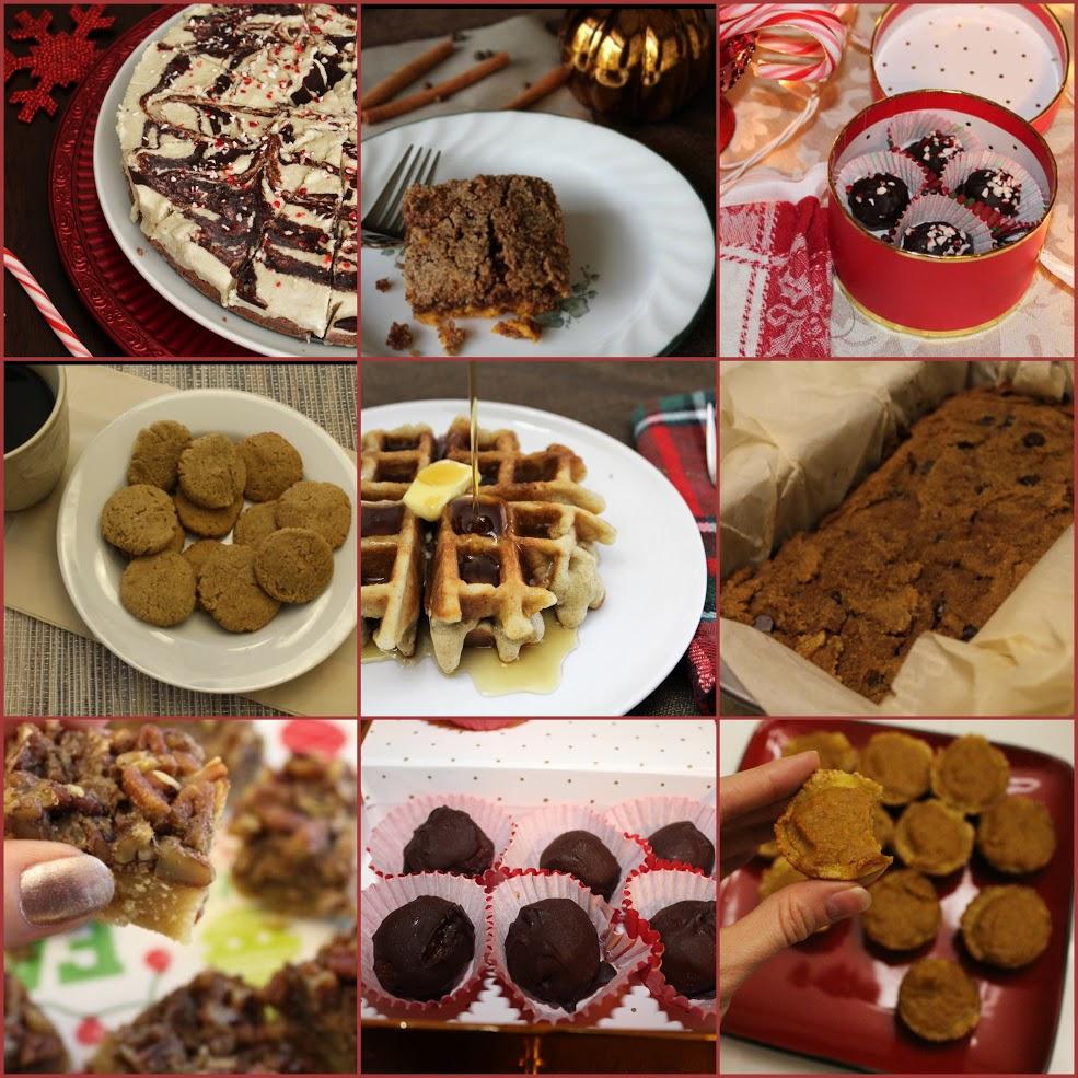 paleogluten free christmas desserts