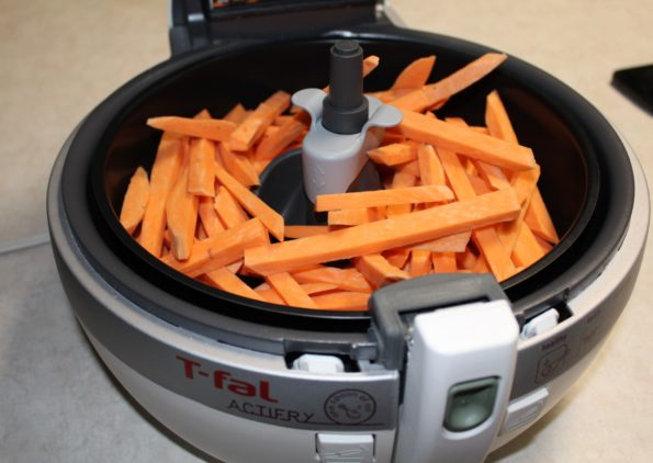 Sweet Potato Fries in the Actifry