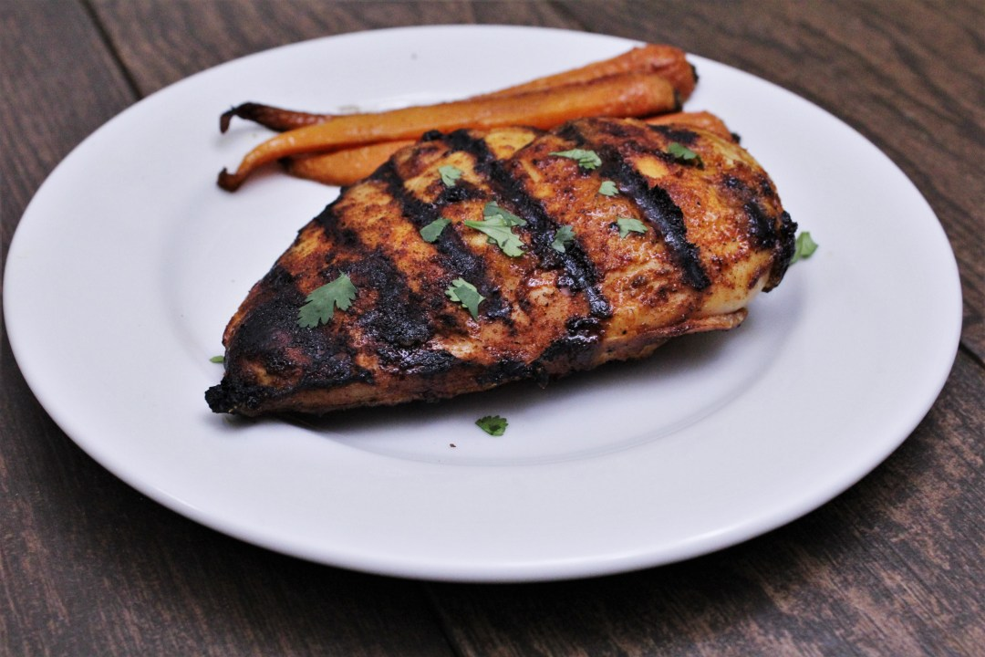 4f617023770f7 Paleo Spicy Maple Grilled Chicken Breasts - Fit Happy Free