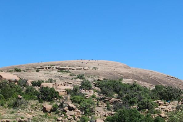 Summit at Enchanted Rock