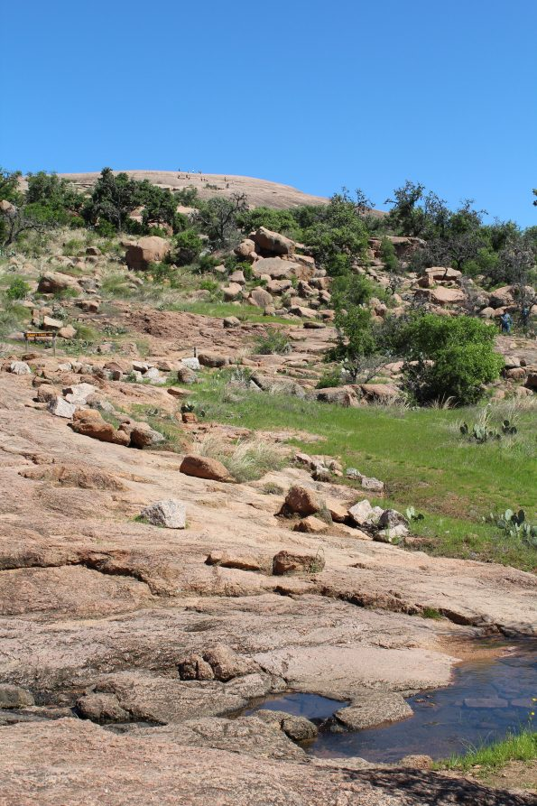 Rocky Trail at Enchanted Rock