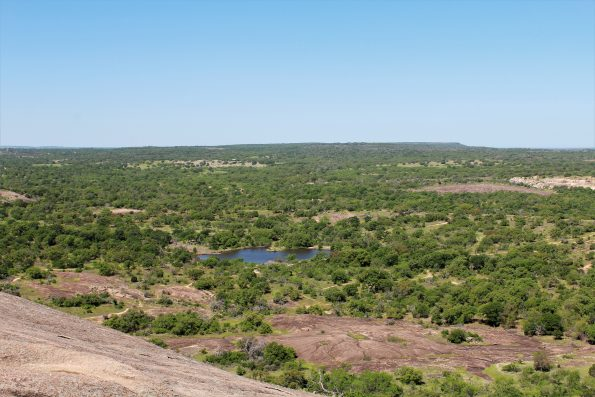 View from Enchanted Rock Summit