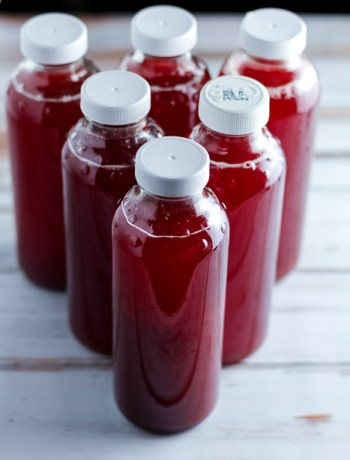 How to Make Blueberry Ginger Kombucha