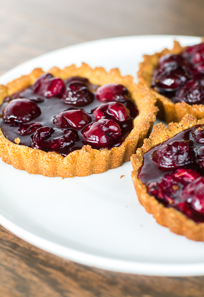 Paleo Cherry Tarts - a delicious paleo treat for the season!