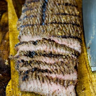 Sliced Paleo Grilled Flank Steak