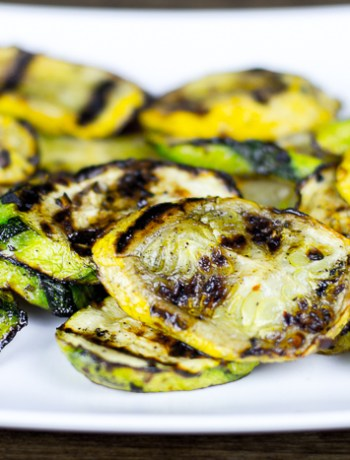 Spicy Grilled Summer Squash Recipe
