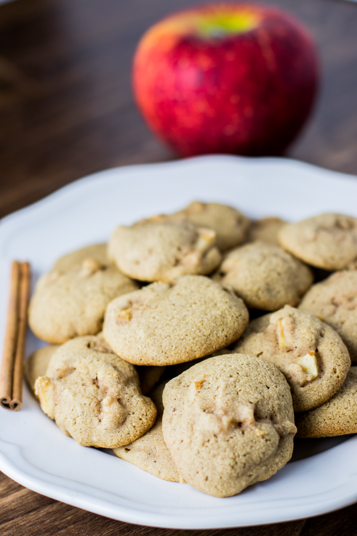 Paleo Apple Spice Cookies - the perfect fall treat!