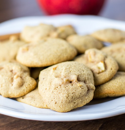 Paleo Apple Spice Cookies