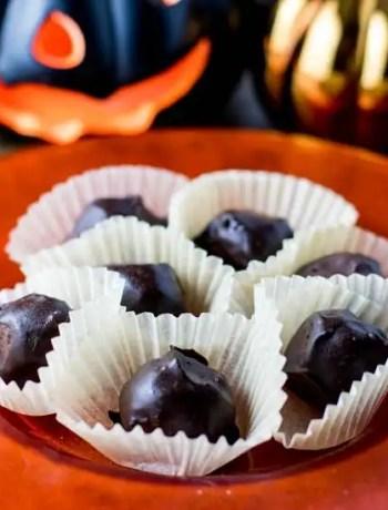 Paleo Pumpkin Truffles