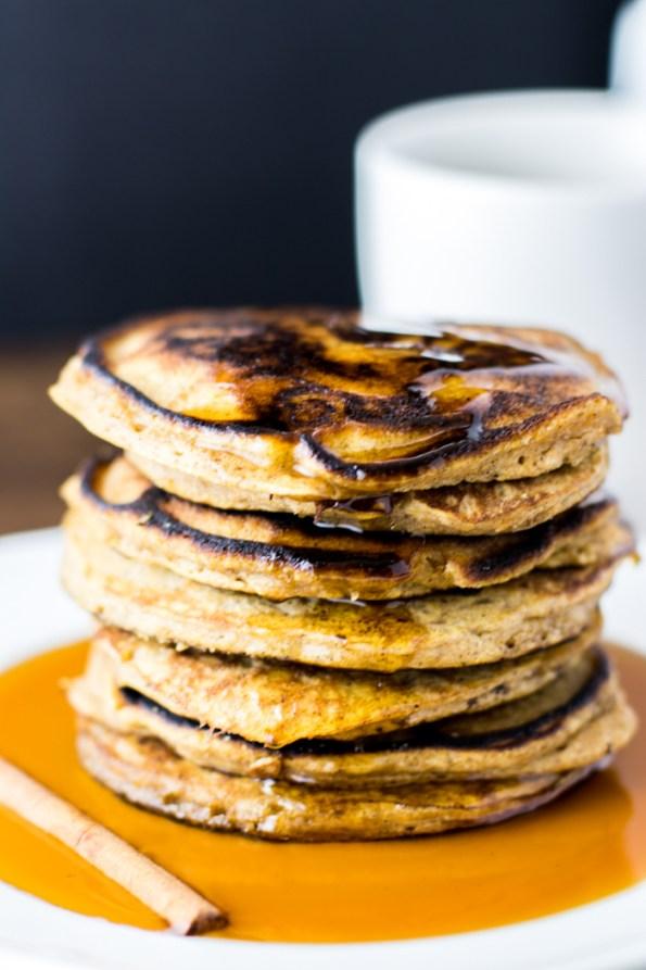 Gluten free Butternut Squash Pancakes