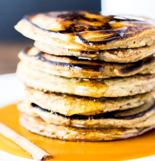 Paleo Maple Butternut Squash Pancakes