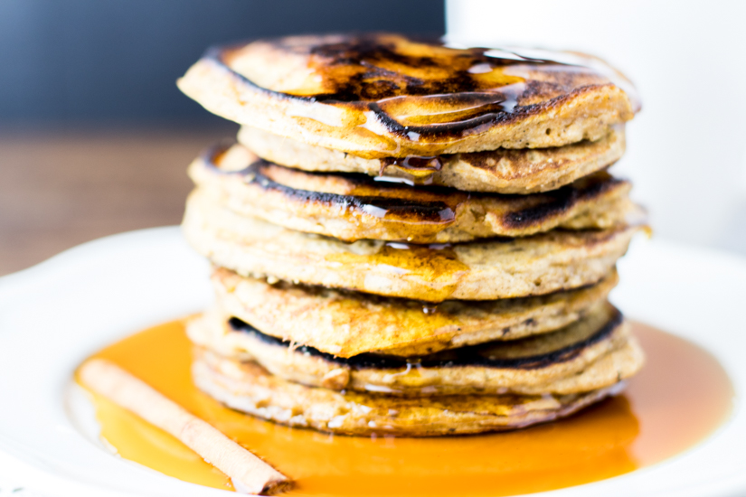 Paleo Maple Butternut Squash Pancakes