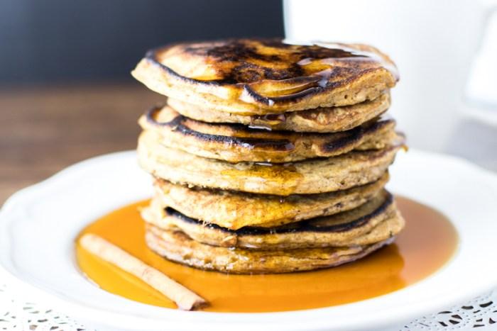 Paleo Butternut Squash Pancakes