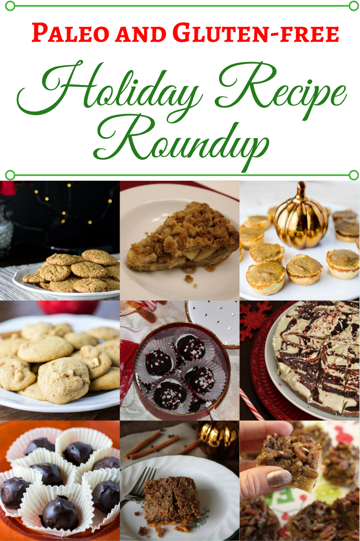 A Roundup of tons of delicious Paleo Holiday Recipes!