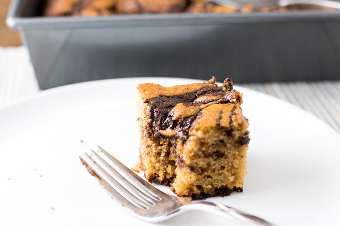 Cinnamon chocolate swirl cake