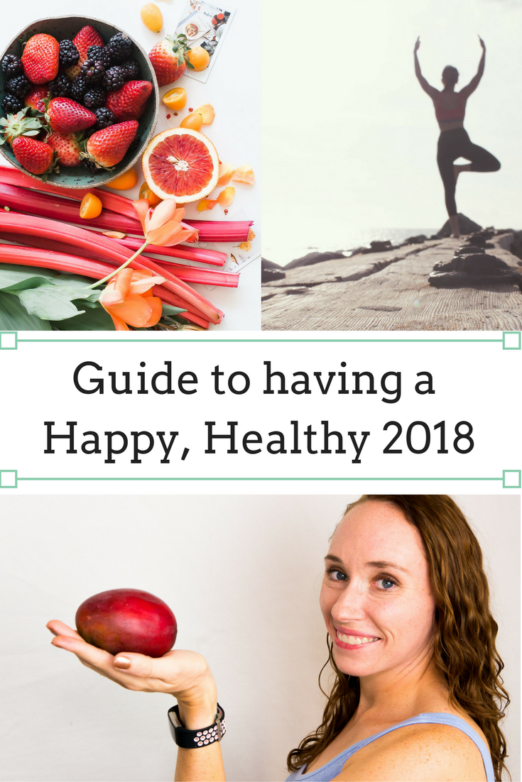 When a new year begins it's common to set goals and resolutions in order to make the year better than the last. Here are my tips and tools for having a Happy Healthy New Year!