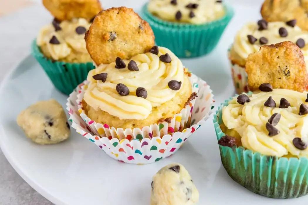 paleo cookie dough cupcakes gluten free