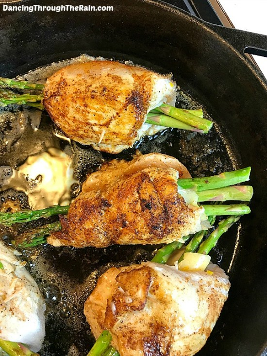 Asparagus Stuffed Chicken