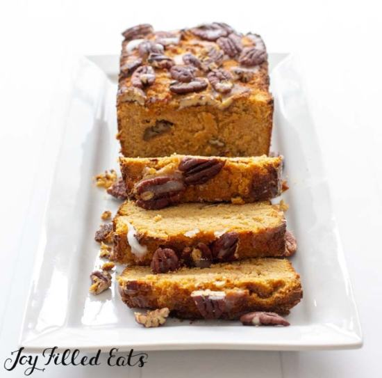 pumpkin bread low carb