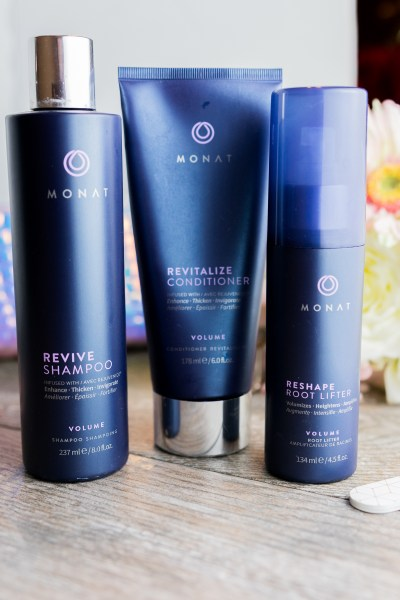 Volume system by Monat