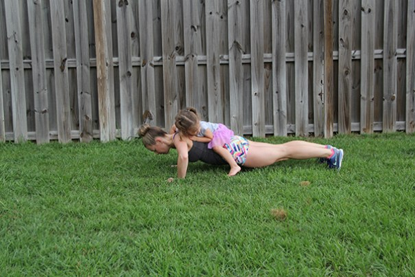 a day in a life of a fit mom