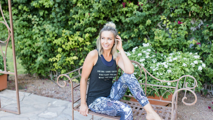 Week's Workout Schedule + graphic tee GIVEAWAY!