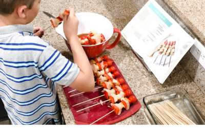 Cooking with kids: 3 tips for building healthy eating habits