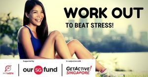 Work out to beat stress!