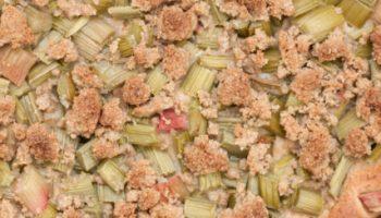 Zielone Ciasto Orkiszowe Z Rabarbarem Bez Cukru Fitkot