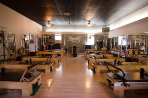 Pilates Reformer Room at FitLab Fitness Studio in Gig Harbor Washington